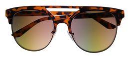 Kenneth Cole Reaction Mens Tortoise Sunglass Soft Square Plastic KC1322  52F image 4