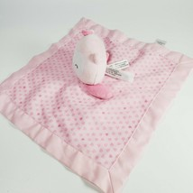 Carters Child of Mine Pink Owl Security Baby Blanket Plush Rattle Lovey ... - $9.95