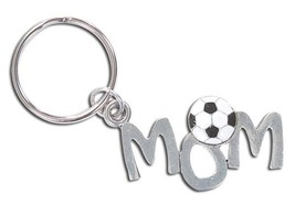 3D Pewter Soccer Mom Keychain Keyring Key Chain - 2pc/pack - $11.99