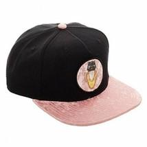 Bioworld Bananya Sublimated Bill Embroidery Snapback Hat Black - $13.71