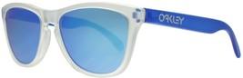 Womens Oakley Frogskins Matte Clear/Transparent... - $109.99