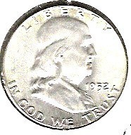 Choice B.U. 1952P Franklin Half