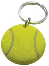 3D Rubber Tennis Ball Keychain Keyring Key Chain - 4pc/pack - $12.99