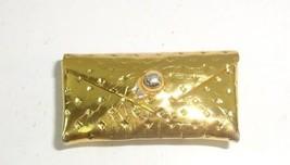 VTG 1960s Barbie Black Magic/Party Date Silken Flame Gold Dimple Clutch ... - $14.89