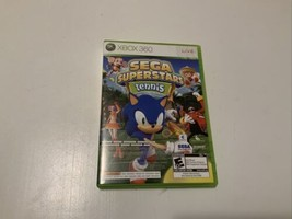 Sega Superstars Tennis Xbox 360 Game & Xbox Live Arcade Disc - $9.90