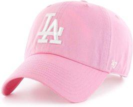 '47 Brand MLB Los Angeles Dodgers Clean Up Adjustable Hat Rose Pink - $25.99