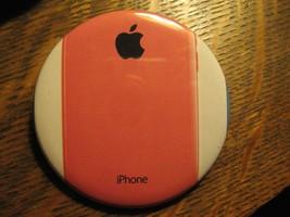 Apple Computer Pink IPHONE Telefono Logo Annuncio Pubblicitario Tasca Ro... - $19.79