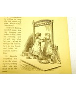 Antique illustrations set 1891 - girl, child, infant, toddle - $3.50