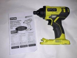 """Ryobi P235 1/4"""" One+ 18V Lithium Ion Impact Driver (Tool Only) - $41.73"""