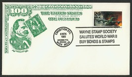 World War II 50th Anniv., Bonds & Stamps [1] **ANY 4=FREE SHIPPING** - $1.00