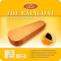 Taiwan Pedi The Waterfroof Raincoat for 4/4 - 3/4 Oblong Violin Case Orange - $15.99