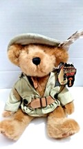 Jungle Joe's Safari Friends Jungle Joe Game Warden Plush Talking Bear Wi... - $24.99