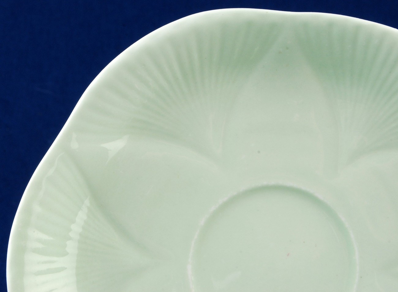 Shelley Pastel Green Dainty Saucer Used