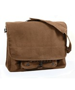Rothco Brown Vintage Canvas Paratrooper Bag - 9728 - $22.76