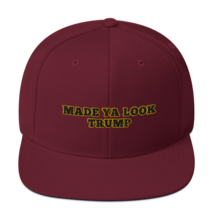 Made Ya Look Trump / Made Ya Look Snapback Hat image 8