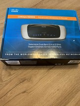 Cisco Linksys E2000 Advanced Wireless-N Router Dual Band Ethernet Ports ... - $18.69