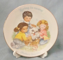 Avon Mother's Day 1989 Collectible Plate Loving is Caring - $3.50
