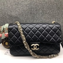 Auth Chanel Limited Ed Westminster Pearl Chain Quilted Lambskin Medium F... - £2,713.89 GBP