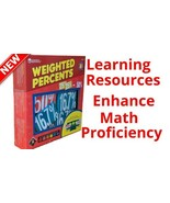 Learning Resources Weighted Percents Enhance Math Skills Teaching Childr... - $29.69