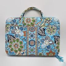 Vera Bradley Bali Blue Hard Laptop Case With Strap - $37.83