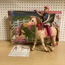 2014 Barbie Saddle N Ride Walking Horse and Doll - $49.49