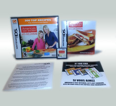 America's Test Kitchen: Let's Get Cooking Nintendo DS 3DS Game * Opened ... - $4.88