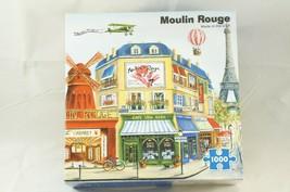 "Re-Marks ""Moulin Rouge"" Paris 1000 piece Jigsaw Puzzle Marilyn Dunlap - $18.87"