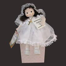 First Communion Brunette Musical Doll - $24.73