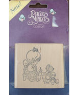 Precious Moments Rubber Stamp Girls or Dolls Tea Party New - $30.00