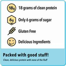 Jimmy! Chocolate Peanut Butter Protein Bars, 18g Protein, Low Sugar, 24 Count image 5