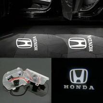 2x LED Logo Door Courtesy Light Ghost Shadow Laser Projector For Honda - $28.00