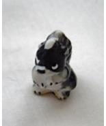 Miniature Skunk Porcelian Black White - $9.99