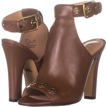 Coach Eddison 102 Peep Toe Booties 494, Lion, 5 US - $97.91