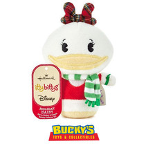 Holiday Daisy Duck Hallmark itty bitty bittys  Christmas  Donald  Mickey... - £10.16 GBP