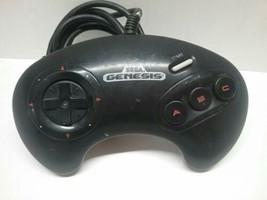 Official 3 Button Sega Genesis Controller Genuine OEM Model 1650 Tested ... - $9.99