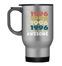 22nd Birthday Gifts Vintage 1996 Travel Mugs 22 Yrs Old Men Women - $21.99