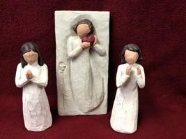 Willow Tree Figures (Set of Three) - $35.00