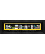 Birmingham-Southern College Officially Licensed Framed Campus Letter Art - $39.95