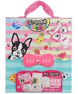 Kids Coloring Set - Travel Toys On The Go For Girls - Pet Theme Carrying... - $16.44