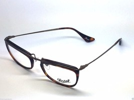 NEW PERSOL Matte Burgundy Brown Frame Hand Made Italy 3083-V 899 51 19 1... - $57.27