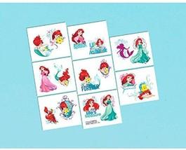 Ariel Dream Big Disney Little Mermaid Birthday Party Favor Temporary Tattoos - $6.17
