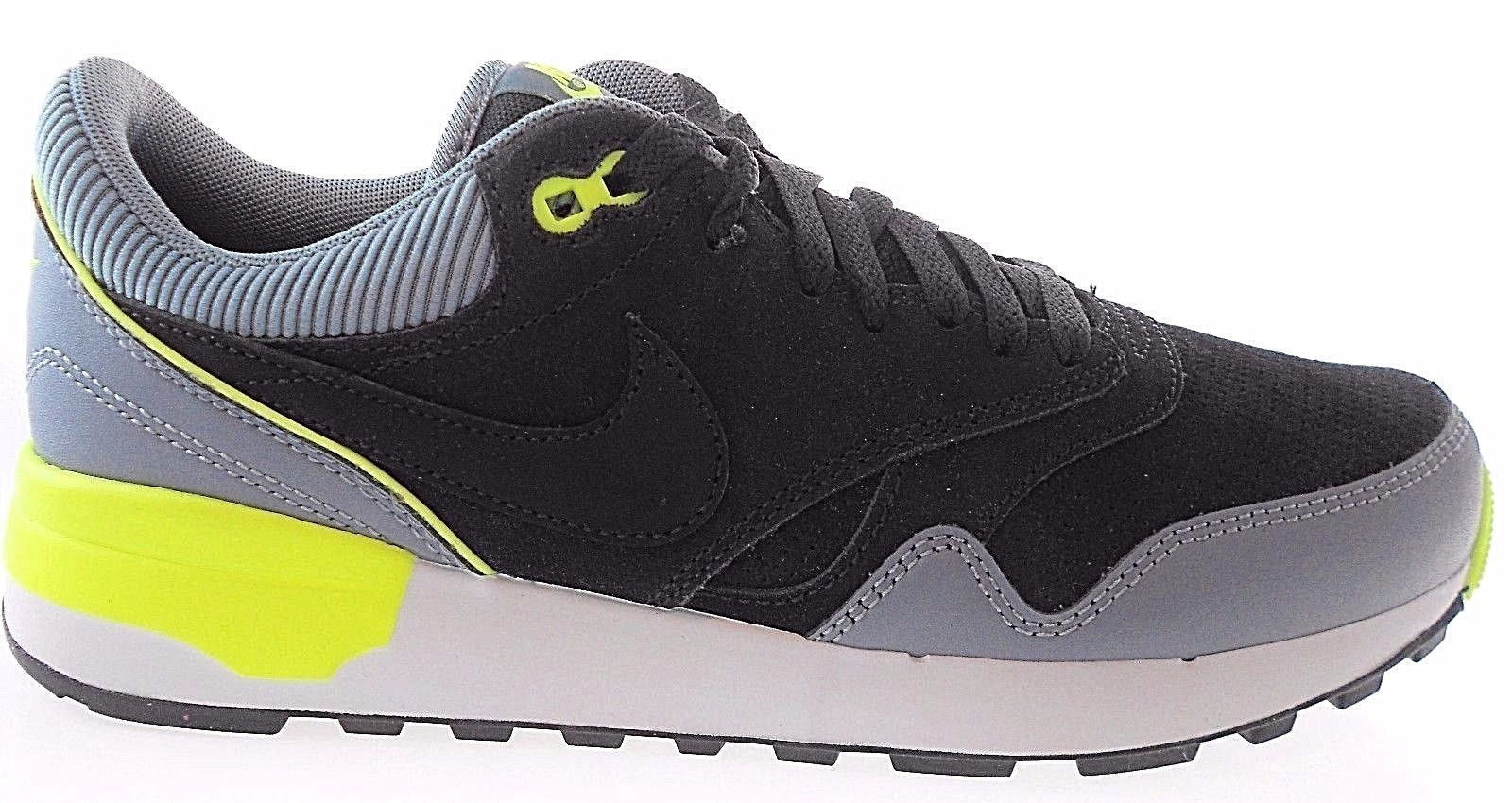 Primary image for NIKE AIR ODYSSEY LEATHER MEN'S BLACK/GREY SNEAKERS, #684773-003 $126