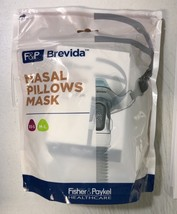 XS-S/ M-L Fisher Paykel Brevida Cpap Mask (Fit Pack) BRE1SMA With Headgear - $105.95