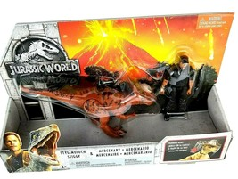 Jurassic World Story Pack Stygimoloch Stiggy and Mercenary Figure - $26.77