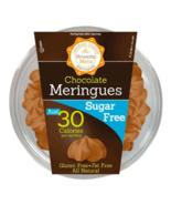 Keto snacks: Krunchy Melts Sugar Free Meringues chocolate 4oz pack (0 ne... - $18.32