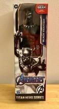 BLACK PANTHER Marvel Avengers Titan Hero Series 12 Inch Hasbro Action Fi... - $17.75