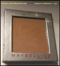 "New & Sealed Maybelline Pressed Shimmer Face/Blush Powder ""Auburn Glimmer"" #30 - $7.95"