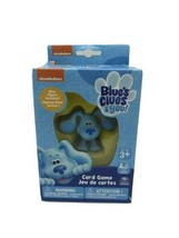 """Blue's Clues & You Card Game With Blue Figure 1.75"""" Nickelodeon 2-4 Play... - $12.16"""