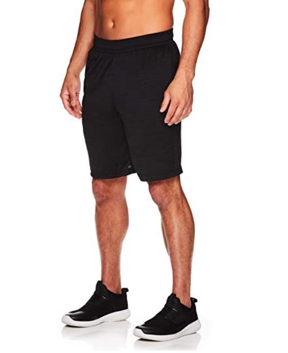 HEAD Men's Performance Workout Gym & Running Shorts w/Elastic Drawstring