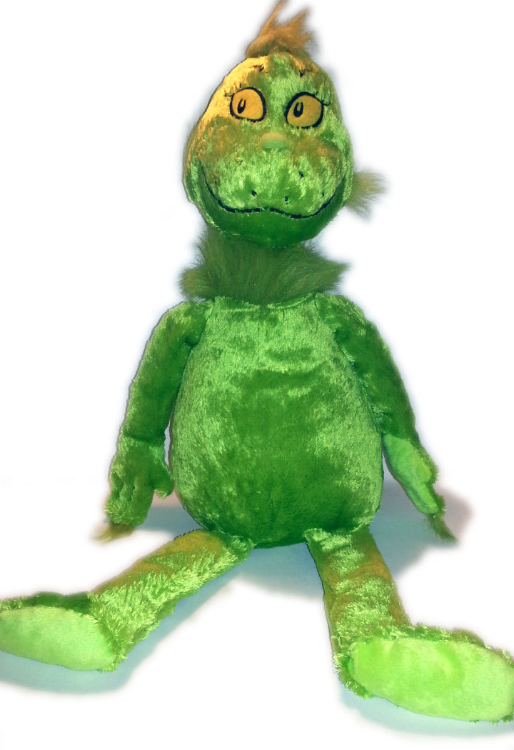 "Dr. Seuss ""The Grinch"" Large 20"" Tall Plush * Kohl's Cares for Kids"